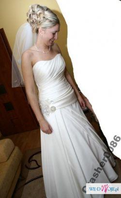 Sprzedam suknię ślubną SPOSA BERLIN ECRU rozm. 40