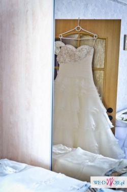 Sprzedam - Suknię ślubną SPOSA model AMARANTA