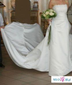 sprzedam suknię ślubną st patrick DRAC z bolerkiem rozm. 36