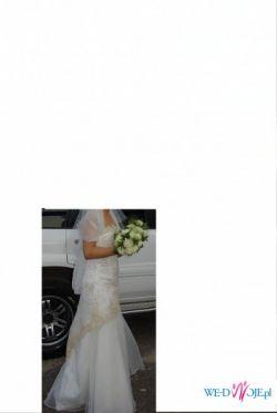 Sprzedam suknię ślubną + szal