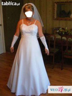 Sprzedam suknię ślubną tanio dodatki gratis