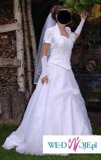 sprzedam suknie ślubną - TANIO+GRATISY