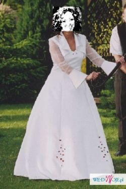 Sprzedam suknie ślubną tanio, wyprana, gorąco polecam