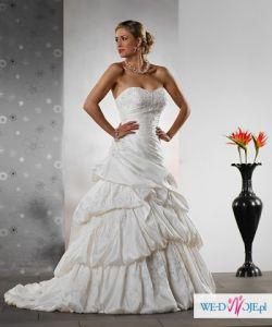 Sprzedam suknie ślubną - Tres chic - model AQ009 38/40