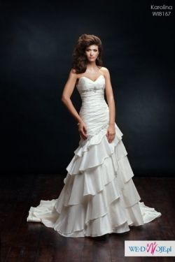 Sprzedam suknię ślubna typu hiszpanka