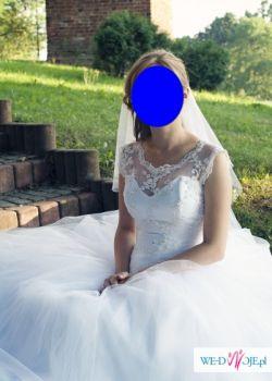 sprzedam suknię ślubną typu księżniczka