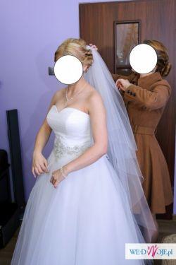 Sprzedam suknię ślubną typu princeska