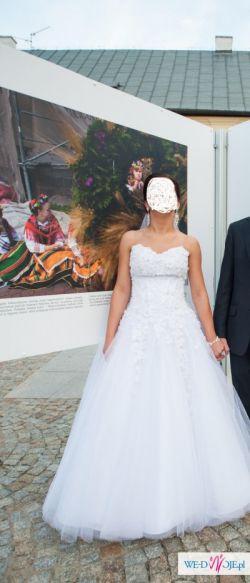 Sprzedam suknię ślubną typu PRINZESSA
