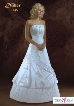 Sprzedam suknię ślubną w kolorze ECRU z kolekcji MBM DUBER