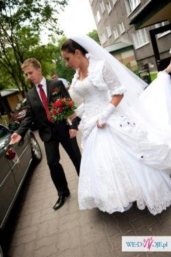 Sprzedam suknię ślubną, w komplecie dwa welony i bolerko, Warszawa-Mokotów, 2500