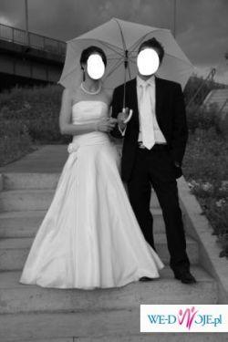Sprzedam suknię ślubną w rozmiarze 36