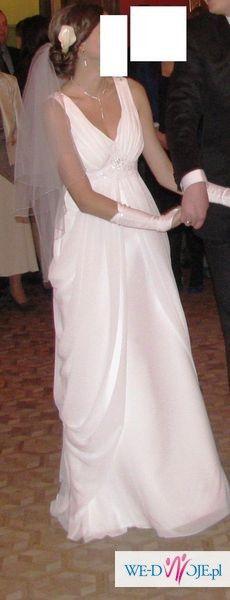 Sprzedam suknie slubna w stylu greckim