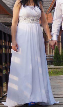 Sprzedam suknię ślubną w stylu greckim - używana