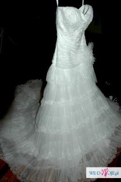 Sprzedam suknię ślubną w stylu hiszpańskim DEMETRIOS B125