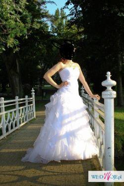 sprzedam suknię ślubną w stylu hiszpańskim MS MODA r.36
