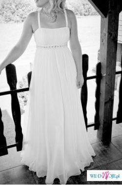 sprzedam suknie slubna w stylu romantycznym