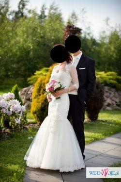 Sprzedam suknię ślubną w stylu rybki