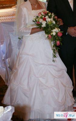 Sprzedam suknię ślubną - waniliową