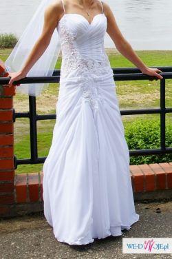 sprzedam suknię ślubną/welon/buty