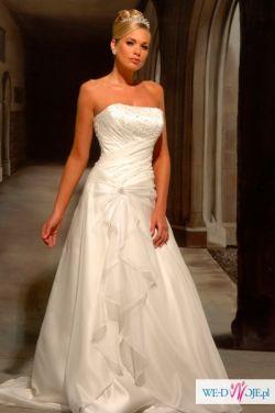 Sprzedam suknię ślubną White Rose R370 + dodatki