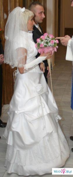 sprzedam suknię ślubna wraz z dodatkami tanio!
