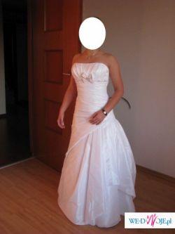 sprzedam suknię ślubną wyprodukowaną w Hiszpanii