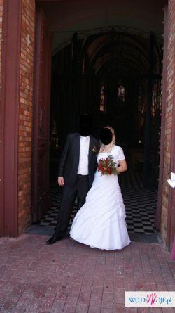 sprzedam suknie ślubną wysadzanąkryształkami swarowski