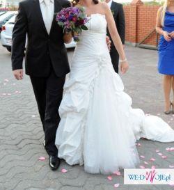 sprzedam suknię ślubną z amerykańskiej kolekcji Mon Cheri 2011 model Bonita