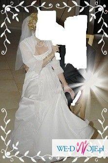 Sprzedam suknię ślubną z bolerkiem