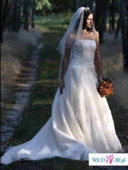 Sprzedam suknię ślubna z dodatkami!!!