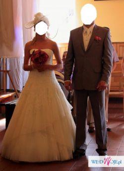 sprzedam suknię ślubną z dodatkami AGORA
