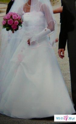 Sprzedam suknię slubną z dodatkami Niedrogo!!!!