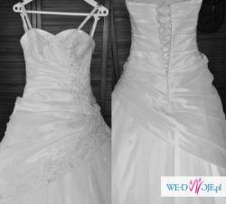 f66007198a Sprzedam suknię ślubną z dodatkami - !!! Wyjatkowa OKAZJA !!! - Olsztyn