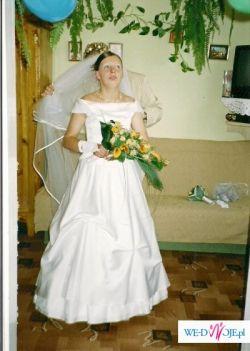 sprzedam suknie ślubną z gorsetem