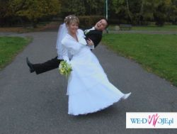 Sprzedam suknię ślubna z kolekcji Cosmobell 2007r.