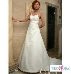 Sprzedam suknię ślubną z kolekcji Emmi Mariage 2008 model Cocco