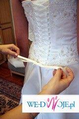 Sprzedam suknię ślubną z kolekcji hiszpańskiej Atelier Diagonal 408.