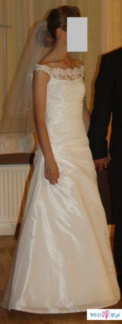 Sprzedam suknię ślubną z kolekcji salonu Margarett