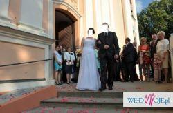 Sprzedam suknię ślubną z kolekcji sweetheart biała + gratis stroiki do włosów