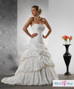 Sprzedam suknie ślubną z Madonny! - Tres chic - model AQ009 38/40