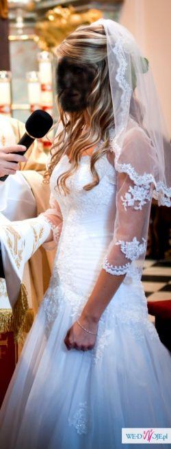 """Sprzedam suknie ślubną """" z Mirella"""" z 2011r."""