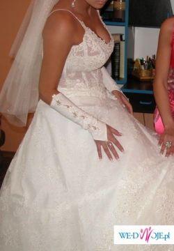 Sprzedam suknie ślubną z PARYŻANKI