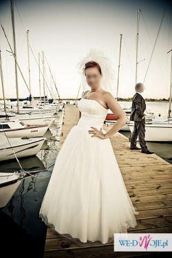 sprzedam suknię ślubną z salonu Agnes