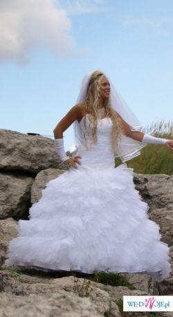 Sprzedam suknię ślubną z salonu Anny Mielcarek-Skrzeszowskiej
