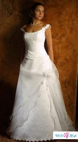 Sprzedam suknię ślubną z salonu Classa C 293