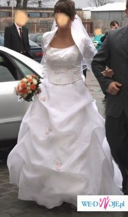 """Sprzedam suknię ślubną z salonu """"Hermago"""""""