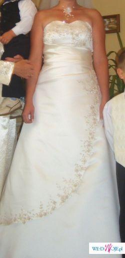Sprzedam suknię ślubną z sierpnia 2008
