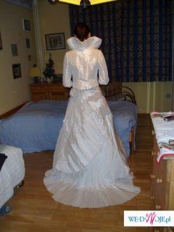 Sprzedam suknię ślubną z tafty