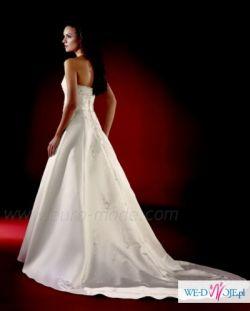 Sprzedam suknię ślubną z welonem i stroikiem