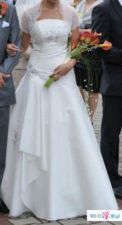 Sprzedam suknie SPOSA model zafira +bolerko i welon